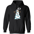 F*ck You! Snowman Funny Ugly Christmas Pullover Hoodie