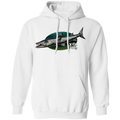 Great Barracuda Saltwater Fish Pullover Hoodie
