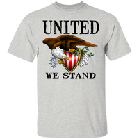 United We Stand Bald Eagle T-Shirt