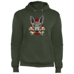 Hairless Cat Crossbones Pullover Hoodie