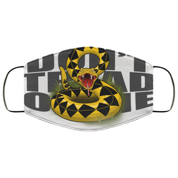 Don't Tread on Me Gadsden Flag Rattlesnake Face Mask