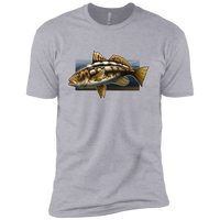 Boys' Calico Bass Kelp Bass Saltwater Cotton T-Shirt