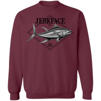 Yellowfin Tuna Saltwater Fish Crewneck Sweatshirt