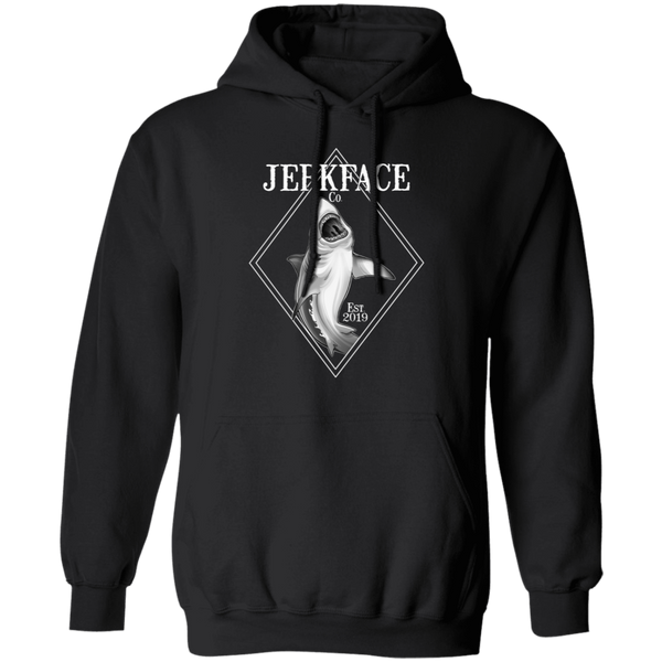 Great White Shark Saltwater Pullover Hoodie