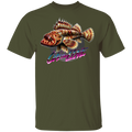 Sculpin Fish On The Line Saltwater T-Shirt