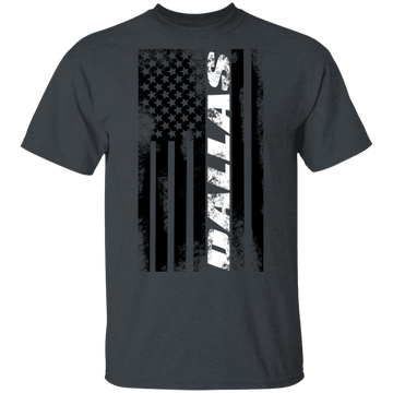 Dallas Texas American Flag T-Shirt