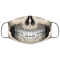 Evil Skull Fang Tooth Face Mask