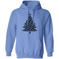 Rifle Firearm Christmas Tree Ugly Christmas Pullover Hoodie