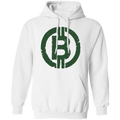 Military Green Bitcoin Hodl Cryptocurrency BTC Pullover Hoodie