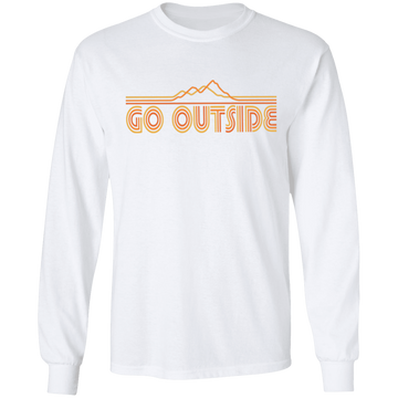 Go Outside Camping Nature Long Sleeve T-Shirt