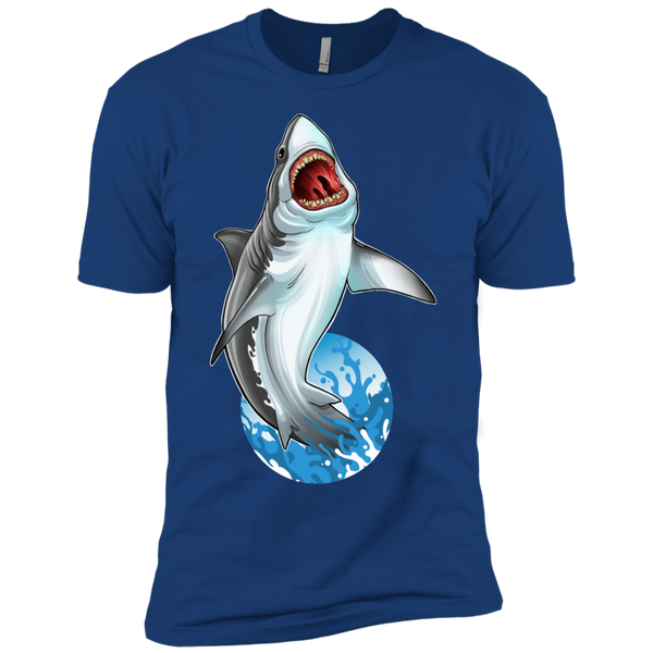 Boys' Great White Shark Saltwater Cotton T-Shirt