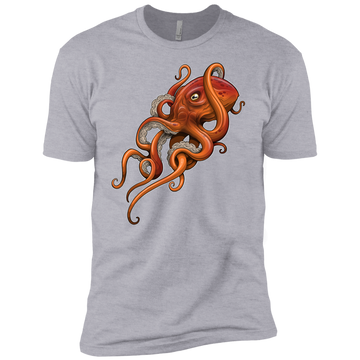 Boys' Octopus Saltwater Cotton T-Shirt