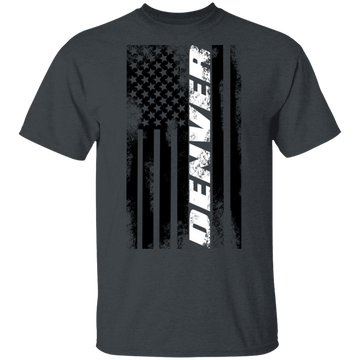 Denver Colorado American Flag T-Shirt