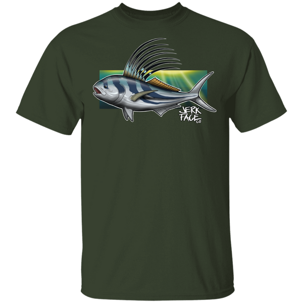 Rooster Fish Saltwater T-Shirt