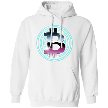 80's Retro Bitcoin Hodl Cryptocurrency BTC Pullover Hoodie