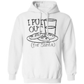 I Put Out Cookies (for Santa) Funny Christmas Pullover Hoodie