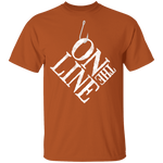 On The Line Saltwater Fishing T-Shirt