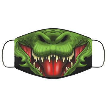Dragon Fire Breather Evil Face Mask