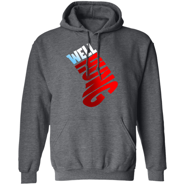 Well Hung Ornament Funny Christmas Pullover Hoodie