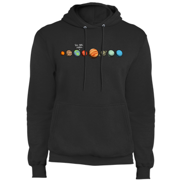 Men's Space Earth You Are Here Fleece Pullover Hoodie