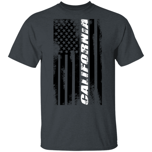 California American Flag T-Shirt