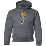 Youth Space Astronaut Balloons Party Pullover Hoodie