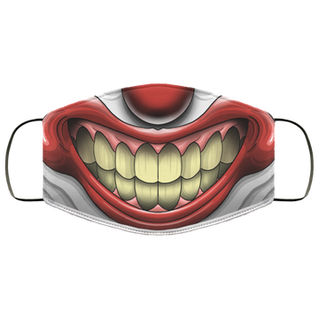 Clown Scary Mouth Face Mask