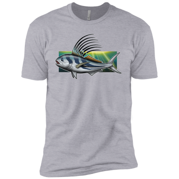Boys' Rooster Saltwater Fish Cotton T-Shirt
