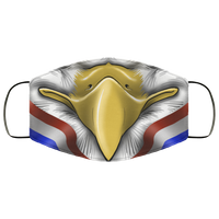 Bald Eagle America Murica Freedom Patriot Face Mask