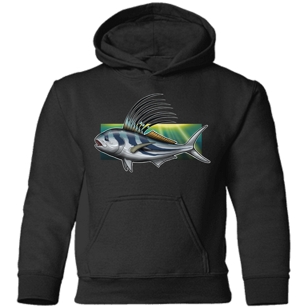 Toddler Rooster Saltwater Fish Pullover Hoodie