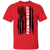 Tennessee American Flag T-Shirt