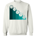 Role Play Dice Nerdy Crewneck Pullover Sweatshirt