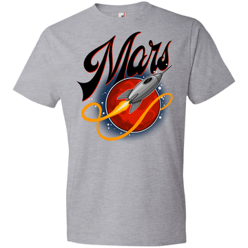Youth Space Mars Space Ship Old Style Lightweight T-Shirt
