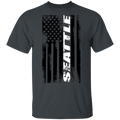 Seattle Washington American Flag T-Shirt