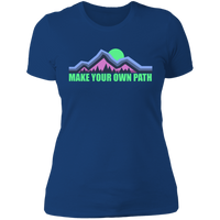 Women's Make Your Own Path Hiking Camping Nature T-Shirt
