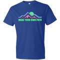Make Your On Path Youth Lightweight T-Shirt 4.5 oz