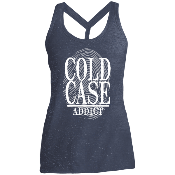 Cold Case Addict Women's Cosmic Twist Back Tank
