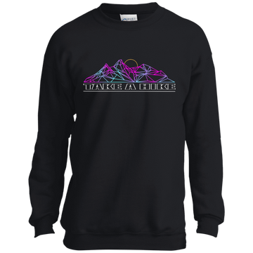Boys' Take a Hike Abstract Camping Nature Crewneck Sweatshirt
