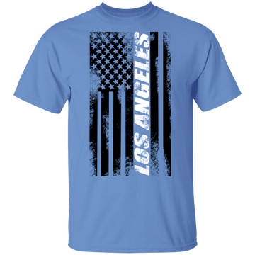 Los Angeles California American Flag T-Shirt