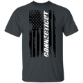 Connecticut American Flag T-Shirt
