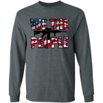 We The People American Flag Long Sleeve T-Shirt