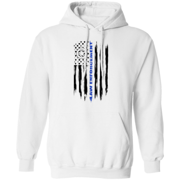 Law Enforcement Deputy Sheriff Police Officer Cop  American Flag Pullover Hoodie