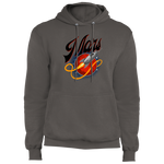 Men's Space Mars Space Ship Old Style Fleece Pullover Hoodie