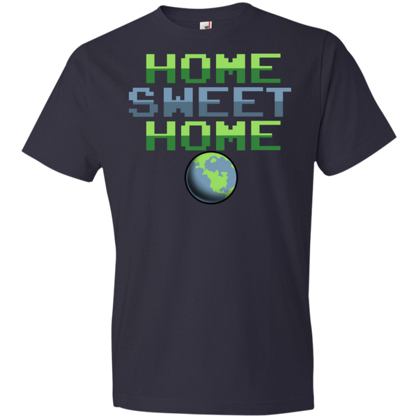 Youth Space Planet Earth Home Sweet  Lightweight T-Shirt