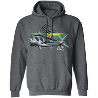 Rooster Saltwater Fish Pullover Hoodie