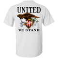 1776 American Bald Eagle United We Stand Double Sided T-Shirt