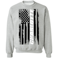 Charlotte North Carolina American Flag Crewneck Sweatshirt
