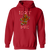 Eat Me Gingerbread Man Ugly Christmas Pullover Hoodie
