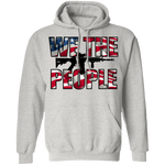 We The People American Flag Pullover Hoodie