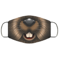 Beaver Animal Face Mask